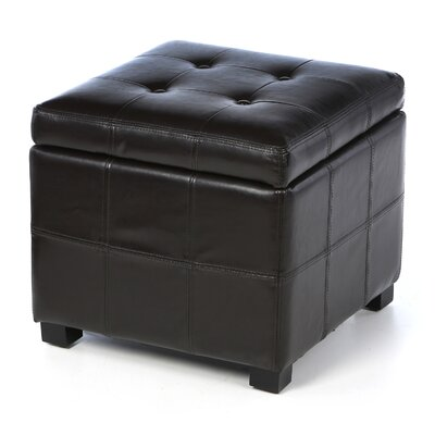 Leather Leather Ottoman