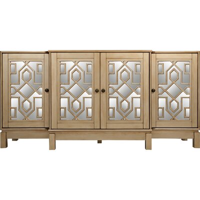 Stillwater Sideboard Color: Champagne Gold