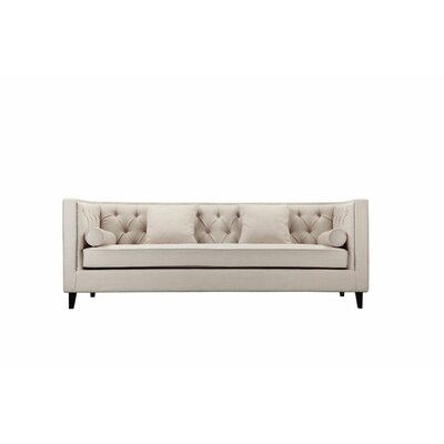 Isolde Chesterfield Sofa Upholstery: Beige