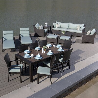 Northridge 19 Piece Seating Group with Cushion