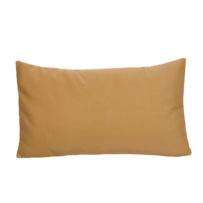 Greenock Embroidered Sunbrella Fabric Indoor/Outdoor Lumbar Pillow