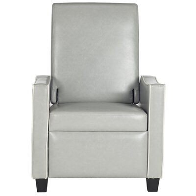 Austin Recliner Color: Gray / White