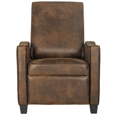 Austin Recliner Color: Coffee / Black