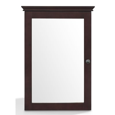 Three Posts Crenshaw 19.25 x 28 Surface Mount Medicine Cabinet