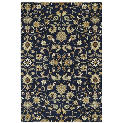 Lyndora Handmade Rectangle Oriental Area Rug Rug Size: Rectangle 3 x 5