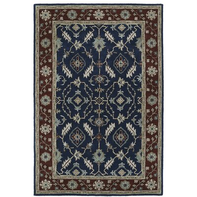 Lyndora Traditional Handmade Rectangle Area Rug Rug Size: Rectangle 9 x 12
