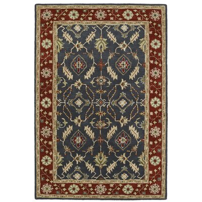 Curtiss Handmade Rectangle Area Rug Rug Size: Rectangle 2 x 3