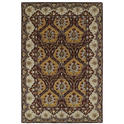 Curtiss Handmade Wool Area Rug Rug Size: 3 x 5