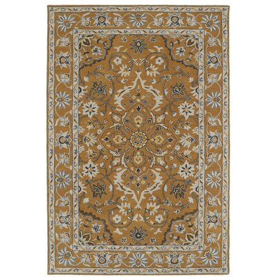 Curtiss Traditional Handmade Area Rug Rug Size: 3 x 5