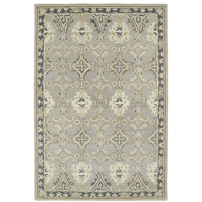 Curtiss Handmade Grey Area Rug Rug Size: Rectangle 8 x 10