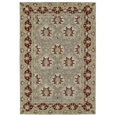 Curtiss Traditional Handmade Wool Area Rug Rug Size: 8 x 10