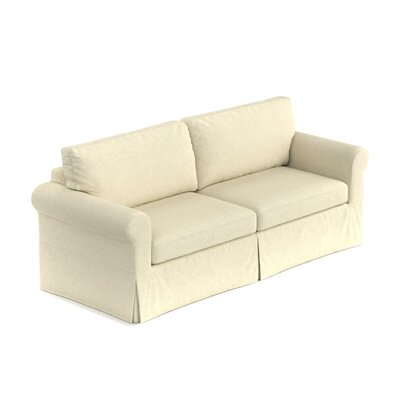 Greenside Replacement Sofa Slipcover Skirted: No, Upholstery: Oatmeal Linen