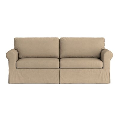 Greenside Replacement Sofa Slipcover Skirted: No, Upholstery: Taupe Brown