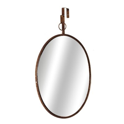 Gold Oval Accent Mirror (Set of 2)