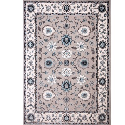 Hawley Gray Area Rug Rug Size: Rectangle 710 x 102