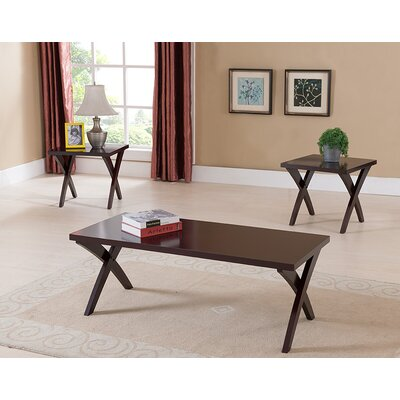 Aldan 3 Piece Coffee Table Set