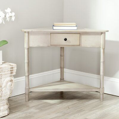 Broadalbin Corner Table Finish: Vintage Grey