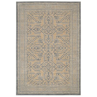 Bryan Gray Area Rug Rug Size: Rectangle 53 x 710