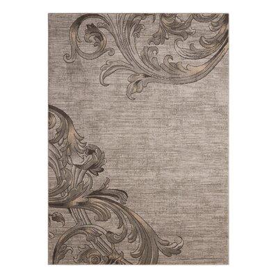 Regina Abstract Mocha Area Rug Rug Size: 710 x 106