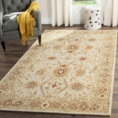 Ashville Hand-Tufted Area Rug Rug Size: Rectangle 5 x 8