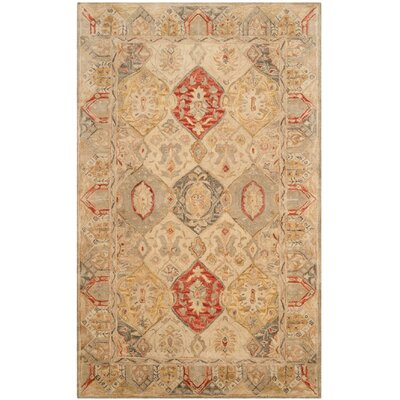 Ashville Hand-Tufted Area Rug Rug Size: 96 x 136