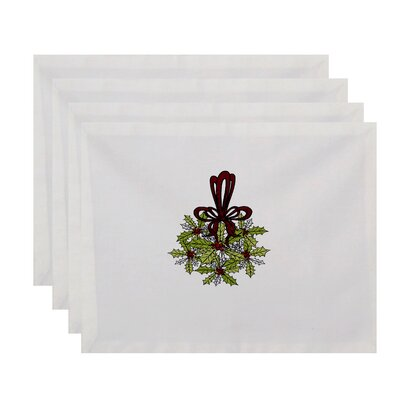 Traditional Mistletoe Placemat