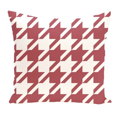 Bryant Geometric Outdoor Throw Pillow Color: Rust