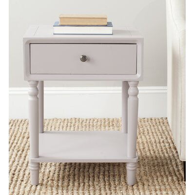 Harwinton End Table Color: Quartz Gray