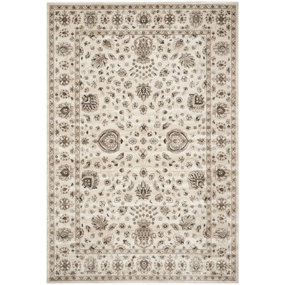Bedford Ivory Area Rug Rug Size: 8 x 11