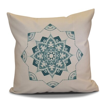 Cicco Star Outdoor Throw Pillow Size: 16 H x 16 W, Color: Teal
