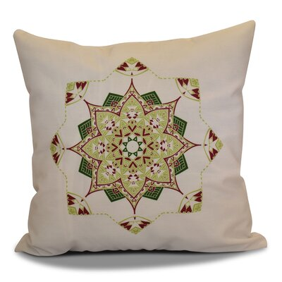 Cicco Star Throw Pillow Size: 18 H x 18 W, Color: Cranberry