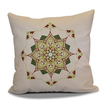 Cicco Star Outdoor Throw Pillow Size: 18 H x 18 W, Color: Cranberry