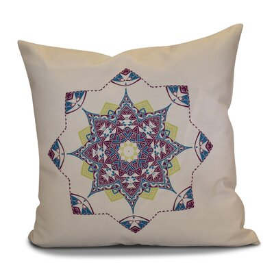 Cicco Star Throw Pillow Size: 18 H x 18 W, Color: Purple