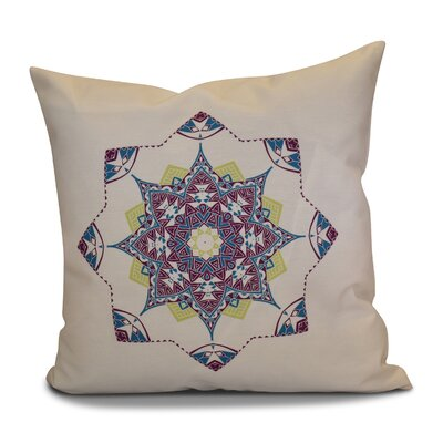 Cicco Star Outdoor Throw Pillow Size: 20 H x 20 W, Color: Purple