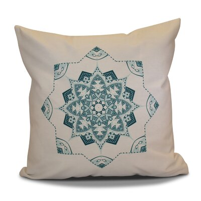 Cicco Star Throw Pillow Size: 18 H x 18 W, Color: Teal
