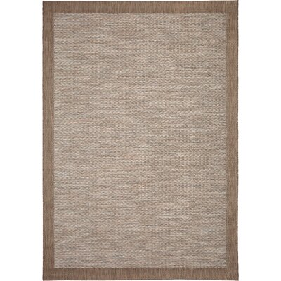 Reginald Gray Indoor/Outdoor Area Rug Rug Size: 51 x 76