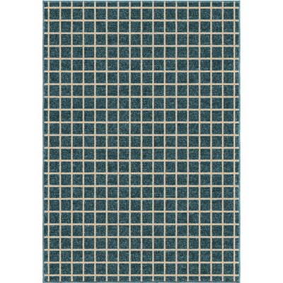 Aberdeen Blue Area Rug Rug Size: 52 x 76