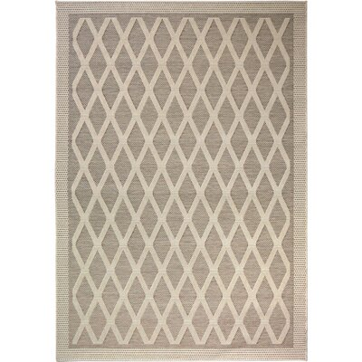 Acton Tan Indoor/Outdoor Area Rug Rug Size: 5'1