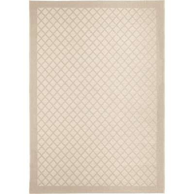Acton Ivory Indoor/Outdoor Area Rug Rug Size: 51 x 76