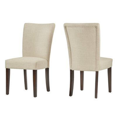 Lancaster Parsons Chair Finish: Beige