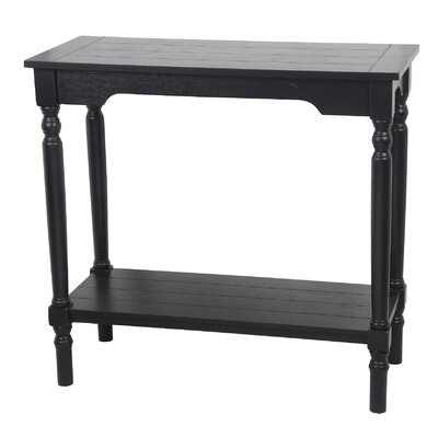 Lancaster End Table Finish: Distressed Black