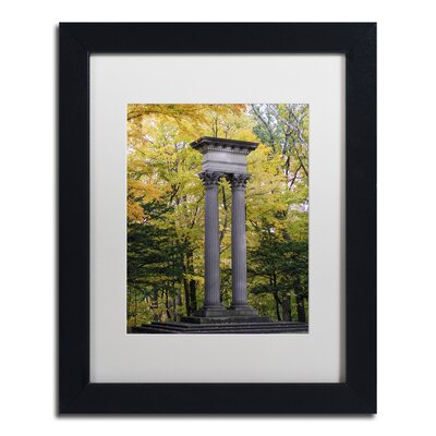 Autumn Columns Framed Photographic Print