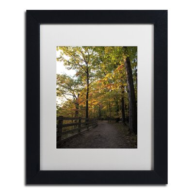Perfect End to an Autumn Day Framed Photographic Print