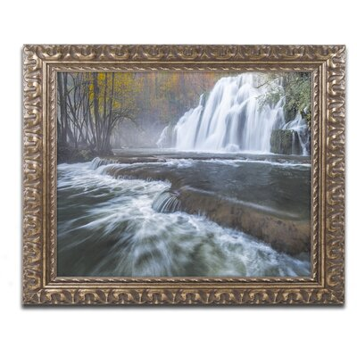 Waterfalls of Tufs in Jura Framed Photographic Print