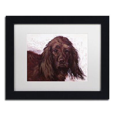 Windy Giclée Framed Painting Print