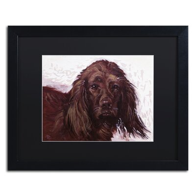 Windy Framed Painting Print