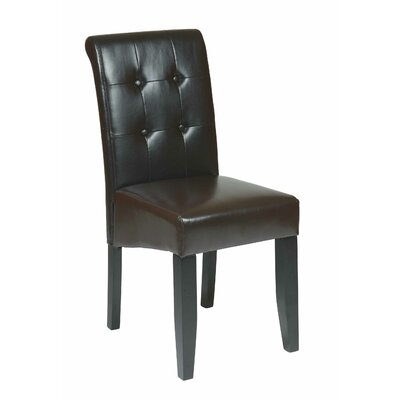 Belfield Side Chair Upholstery: Espresso