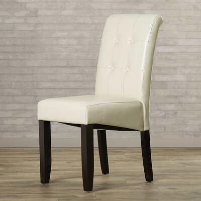 Belfield Side Chair Upholstery: Cream