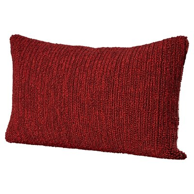 Providence Outdoor Lumbar Pillow Color: Marine Red