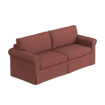 Greenside Replacement Sofa Slipcover Skirted: No, Upholstery: Red Tapestry